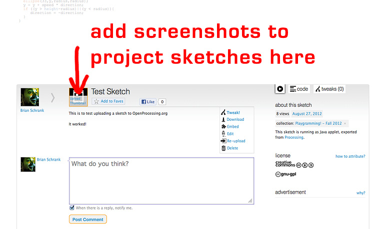 How to add images to project sketches in processing